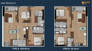 can ho akari city 79-100 m2